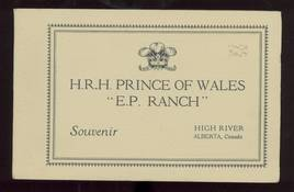 H. R. H. Prince of Wales