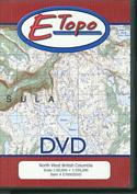 E-Topo (DVD) North West British Columbia