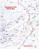 Tombstone Park Hiking Map