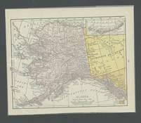 1916 Alaska Map