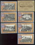 Dawson Diamond Jubilee Series  6 Picture Postcards