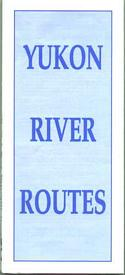 Yukon River Routes (Folded Map)