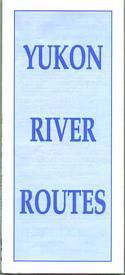 Yukon River Routes (Folded Map)