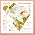 Hidden Lake (Porter Creek) Orienteering Map