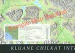 Kluane-Chilkat Bike Relay Map