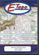 E-Topo: Northern Canada & Alaska: (CD Format for PC and MAC)