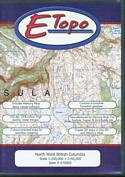E-Topo: North West British Columbia: (CD Format for PC and MAC)