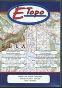 E-Topo: North East British Columbia: (CD Format for PC and MAC)